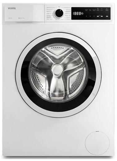 Vestel CMI 96101 A+++ 1000 Devir Çamaşır Makinesi 9 KG Renkli